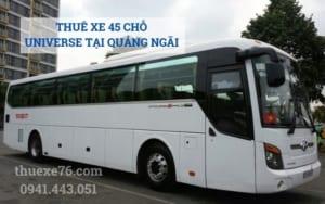 Thuê xe 45 chỗ universe tại Quảng Ngãi